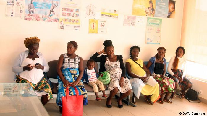 Angola Schwangere Frauen ohne Zugang zu Gesundheitsdiensten in Kwanza Norte