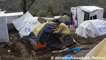 Griechenland Moria Flüchtlingslager in Lesbos