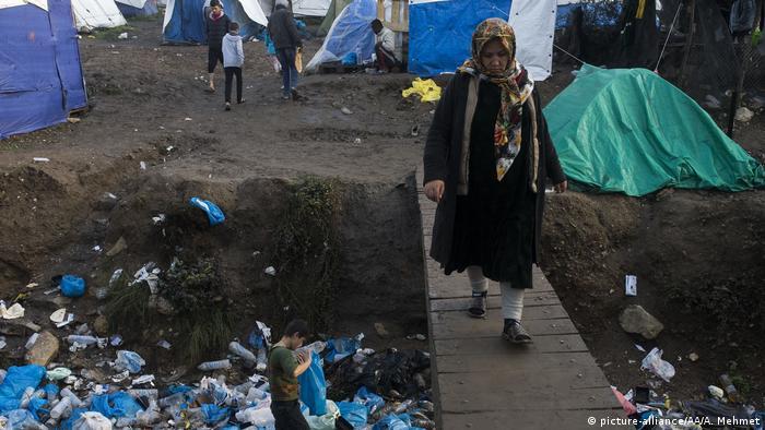 Das Lager Moria soll nach dem Willen Athens aufgelöst werden