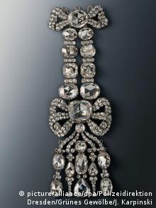 Одна з викрадених прикрас - діамантовий еполет XVIII століття