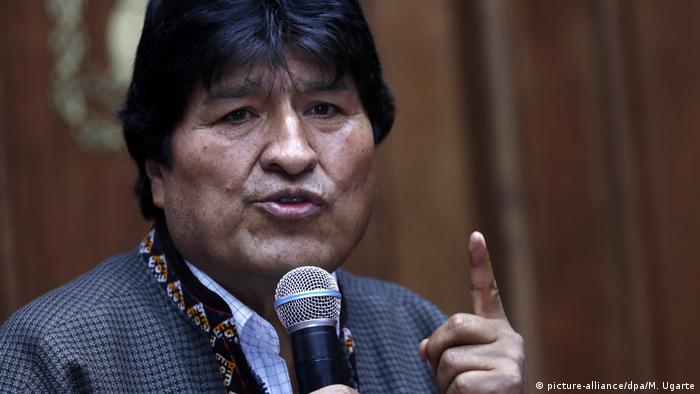 MexikoPressekonferenz von Evo Morales (picture-alliance/dpa/M. Ugarte)