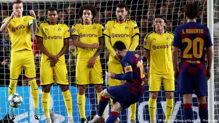 Champions League - Group F - FC Barcelona vs. Borussia Dortmund