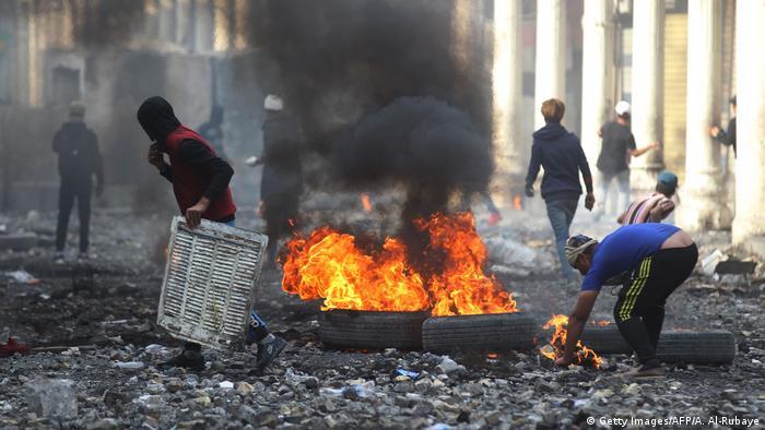 Irak Proteste (Getty Images/AFP/A. Al-Rubaye)
