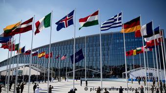 Το κεντρικό κτήριο του ΝΑΤΟ στις Βρυξέλλες