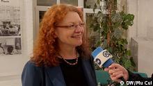 Margarete Bause, Bundestagsabgeordnete der Grünen. Foto: DW/Mu Cui, Aufgenommen am 27.Nov.2019 in Berlin.