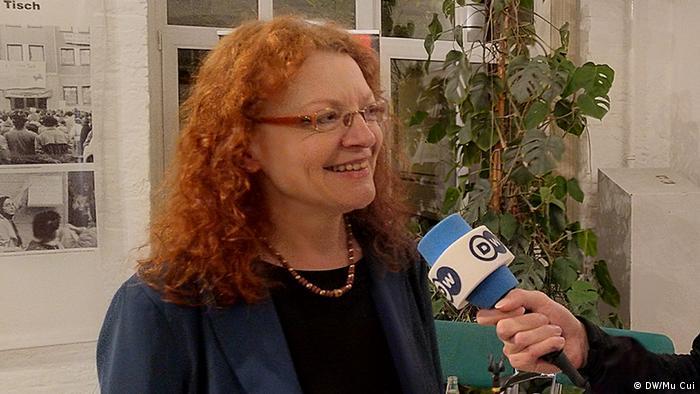Margarete Bause (DW/Mu Cui)