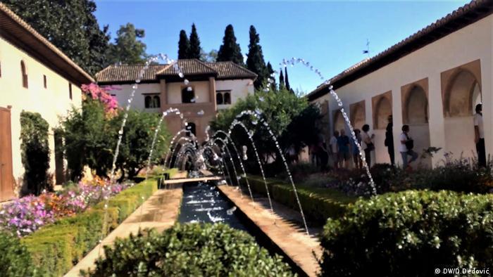Spanien Wasser Alhambra