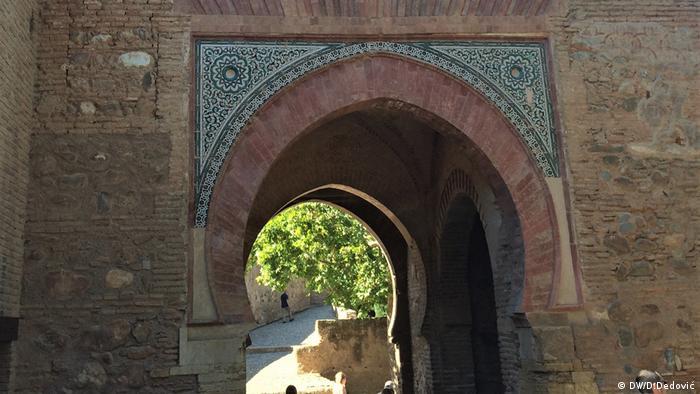 Kapija vina u Alhambri