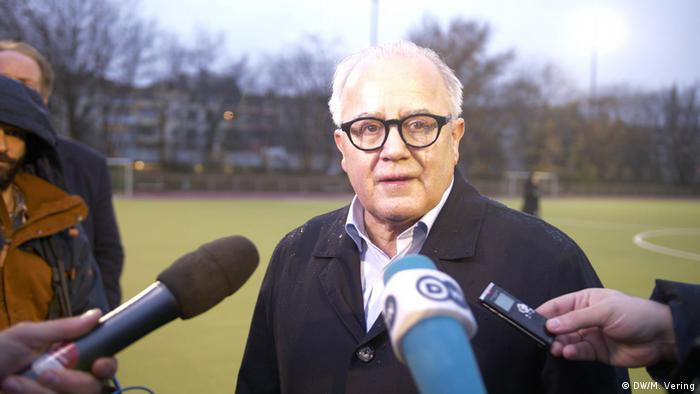 DFB-Präsident Fritz Keller will den DFB verändern
