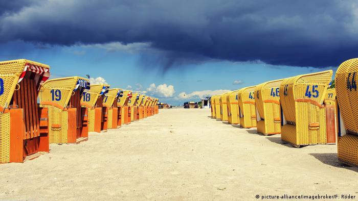 Пляжные корзины в земле Мекленбург - Передняя Померания