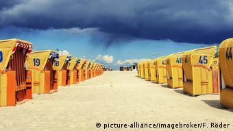 Пляжные корзины в Германии