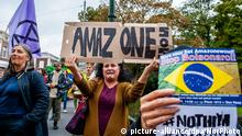 Demonstration gegen Bolsonaro in Den Haag