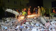 27. November 2019 Situation nach dem starken Erdbeben.