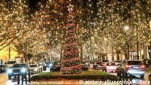Deutschland Weihnachtsstimmung am Kurfürstendamm in Berlin