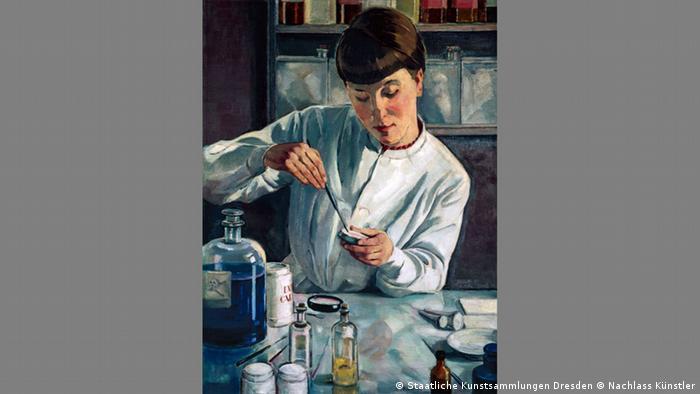 Nowe spojrzenie na kobietę: Richard Birnstengel, Laborantka