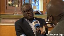 Bonn Interview mit Denis Mukwege