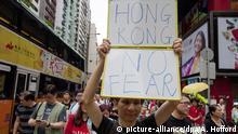 Proteste in Hongkong Buchhändler Lam Wing-kee