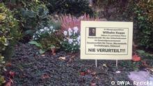Grab von Wilhelm Koppe auf dem Friedhof Bonn-Rüngsdorf