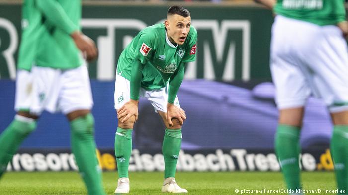 SV Werder Bremen - FC Schalke 04 - Maximilian Eggestein (picture-alliance/Guido Kirchner/D. Inderlied)