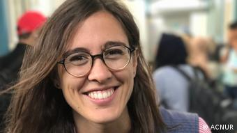 Olga Sarrado Mur, portavoz de ACNUR para la situación en Venezuela.