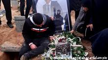 Iran Teheran | Beerdigung von Pedram Jafari der bei Protesten getötet wurde