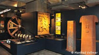 The Ruhr Museum displays the area's coalmining history