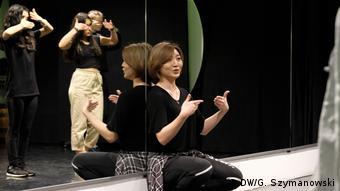 Dance teacher Jiwon Kang (DW/G. Szymanowski)