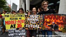 Australien Klimaprotest - Friday climate action day