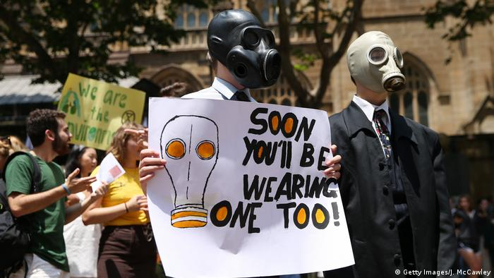Australien Klimaprotest - Friday climate action day (Getty Images/J. McCawley)