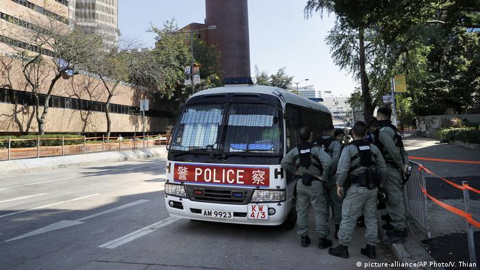 Proteste in Hongkong | Polizei