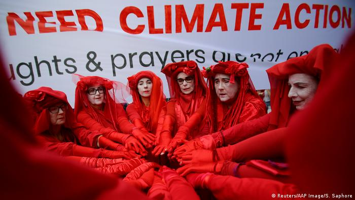 Australien Klimaprotest | Friday Climate Action Day (Reuters/AAP Image/S. Saphore)
