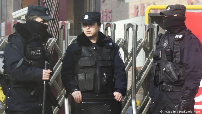 China | Uiguren | Polizei