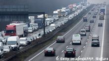 Deutschland   Stau auf Autobahn
