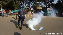 Bangladesch Dhaka BNP-Aktivisten vor Obersten Gerichtshof Zusammenstoß mit Polizei