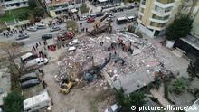 Nach dem Erdbeben in Albanien