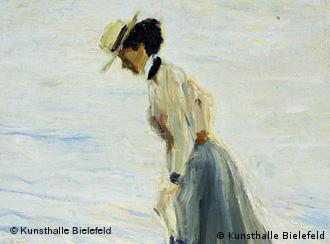 Макс Слефогт Дама у моря, 1907