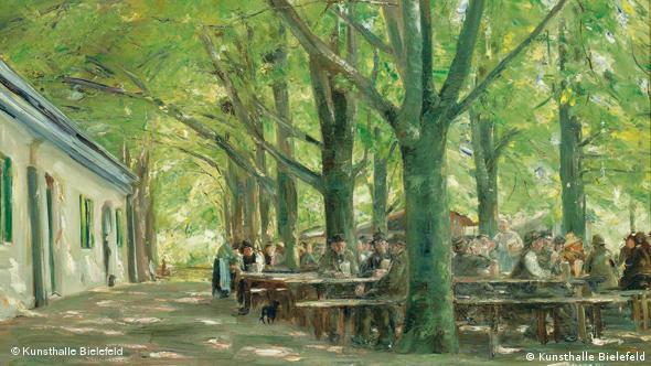 Макс Либерман Пивная в Бранненбурге, 1893