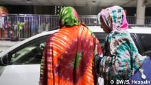 19.05.2018 *** Some of the Bangladeshi women workers who return in Dhaka from Saudi Arabia this year. Almost all of the returnees claimed that they had left Saudi Arabia after suffering inhumane torture at the hands of their employers while many of them mentioned payment-related irregularities as an added bonus to their misery.