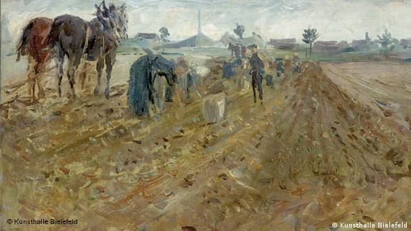 Роберт Штерл Уборка картофеля, 1905