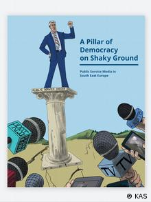 Buchcover A Pillar of Democracy on Shaky Ground Public (KAS)