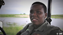 Screenshot aus DW Eco Africa - Gobe Motshidisi, Safari Guide