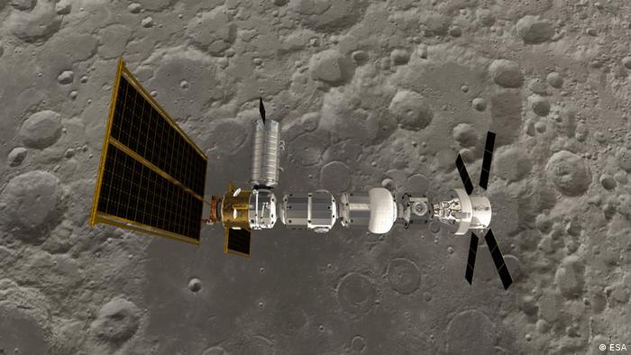 Moon orbiter (ESA)