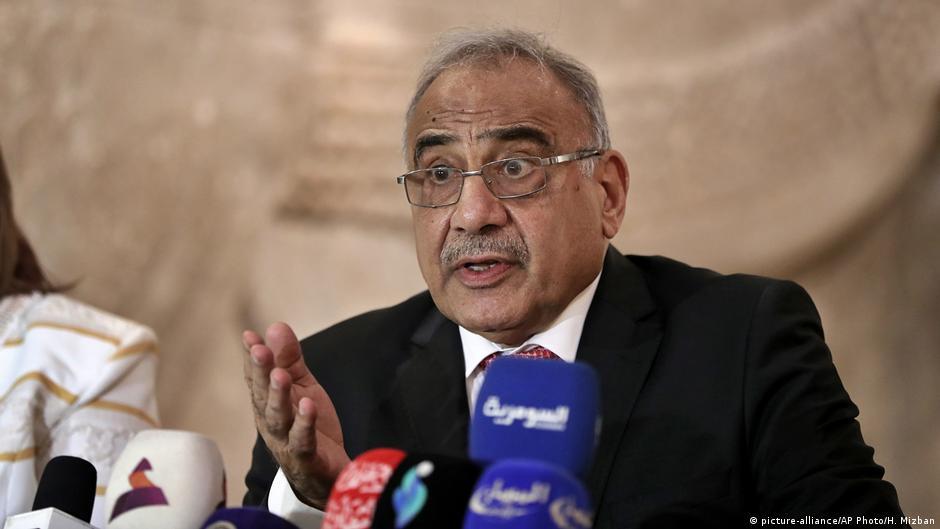 Iraq Prime Minister Adel Abdul Mahdi says he will resign | DW | 29.11.2019