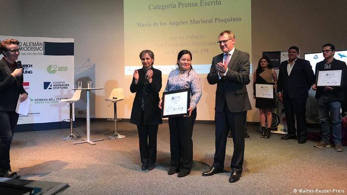 Verleihung des Walter-Reuter- Preises in Mexiko