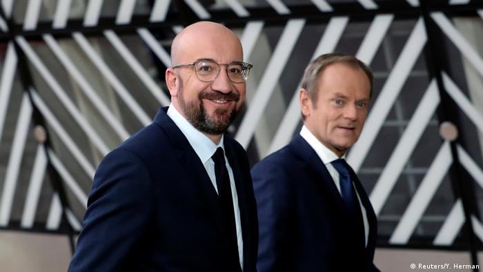 Charles Michel i Donald Tusk