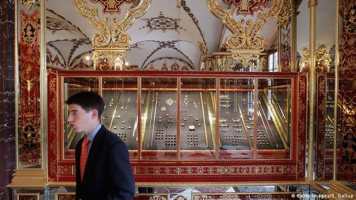 Сокровищница в Дрездене