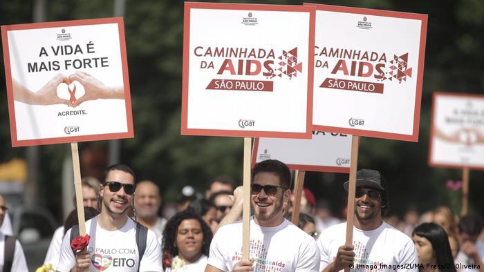 AIDS prevention walk