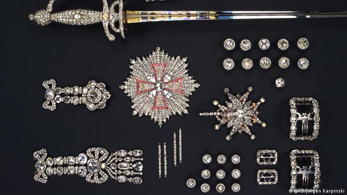 Juwelengarnituren des Grünen Gewölbes
