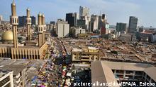 Nigeria Blick auf Lagos