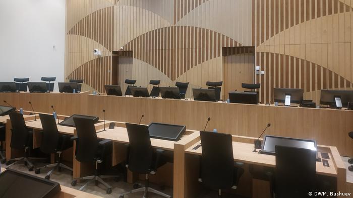Зал, где будет проходить судебное заседание